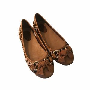 Sperry Leopard Print Driving Loafers